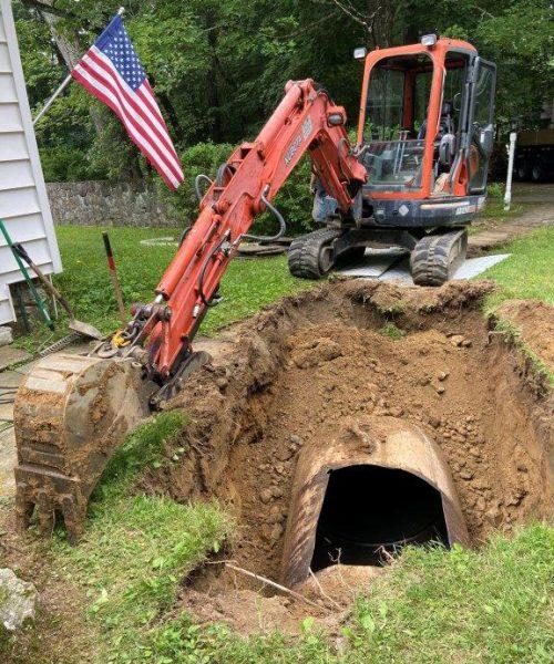 oil-tank-removal-in-yard